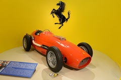 Ferrari Tipo 500 αγωνιστικό αυτοκίνητο τύπου F2 Στοκ φωτογραφία με δικαίωμα ελεύθερης χρήσης