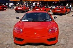 Ferrari toont Dag - 360 Uitdaging Stradale Stock Foto