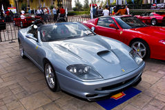 Ferrari toont Dag - 550 Barchetta Stock Foto's