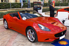 Ferrari toont Dag - Ferrari Californië - F149 Royalty-vrije Stock Foto's