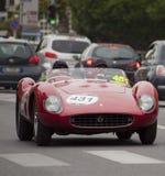 Ferrari 500 TRC-spin Scaglietti 1957 Royalty-vrije Stock Afbeeldingen