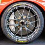 Ferrari tyre Stock Photo