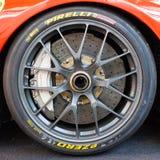 Ferrari tyre Stock Photo