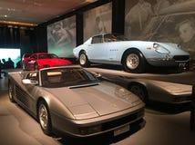 Ferrari: Under huden designmuseum, London arkivbild