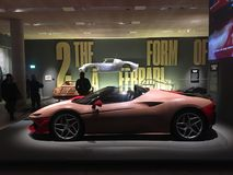 Ferrari: Under the Skin, Design Museum, London Stock Photography
