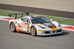 Ferrari utmaning Shell Cup 2015 på Monza Fotografering för Bildbyråer