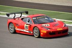 Ferrari utmaning Shell Cup 2015 på Monza Arkivbilder