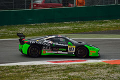 Ferrari utmaning Shell Cup 2015 på Monza Arkivfoton