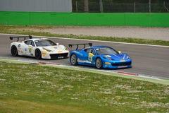 Ferrari utmaningPirelli trofé 2015 på Monza Arkivbilder