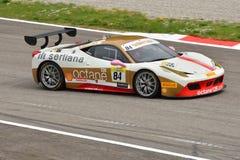 Ferrari utmaningPirelli trofé 2015 på Monza Royaltyfri Bild