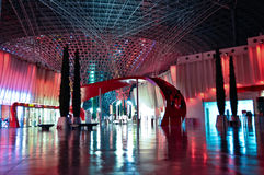 Ferrari värld i Abu Dhabi UAE Royaltyfria Bilder