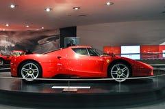 Ferrari värld i Abu Dhabi UAE Arkivfoto