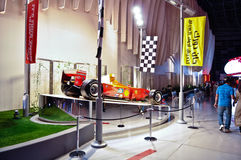 Ferrari värld i Abu Dhabi UAE Royaltyfri Fotografi