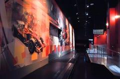 Ferrari värld i Abu Dhabi UAE Arkivfoton