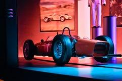 Ferrari värld i Abu Dhabi UAE Fotografering för Bildbyråer