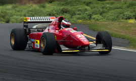 Ferrari v12 412TIB F1 car Stock Photography