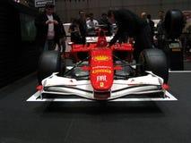 Ferrari van Alonso in Genève Stock Fotografie