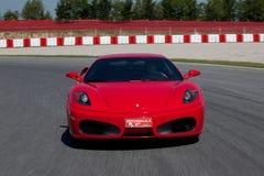 Ferrari vermelho F430 F1 Fotografia de Stock