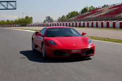 Ferrari vermelho F430 F1 Imagens de Stock Royalty Free