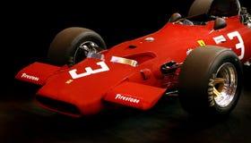 Ferrari Vintage F1 race car Stock Photos