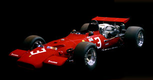 Ferrari Vintage F1 race car Royalty Free Stock Images