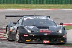 FERRARI voiture de course de 458 TASSES Photo stock