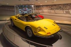 Ferrari w Abu Dhabi fotografia royalty free