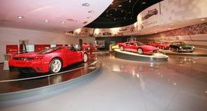 Ferrari-Welt in Abu Dhabi Lizenzfreie Stockfotografie