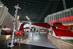 Ferrari-Welt in Abu Dhabi Stockbilder