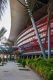 Ferrari-Weltpark in Abu Dhabi Lizenzfreies Stockbild