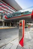 Ferrari-Weltpark in Abu Dhabi Lizenzfreies Stockfoto