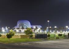 Ferrari-Weltpark in Abu Dhabi Stockfotografie
