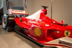 Ferrari-Wereld in Abu Dhabi Royalty-vrije Stock Fotografie
