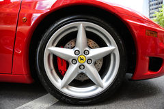 Ferrari Wheel Logo Royalty Free Stock Photos