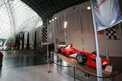 Ferrari world in abu dhabi Stock Image