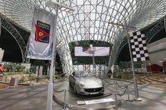 Ferrari world in abu dhabi Royalty Free Stock Photo