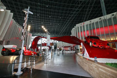 Ferrari world in abu dhabi Stock Images