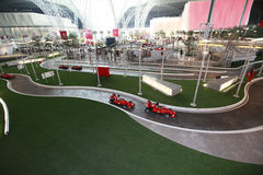 Ferrari world in abu dhabi Royalty Free Stock Image