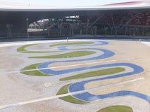 Ferrari World in Abu Dhabi, UAE Royalty Free Stock Image