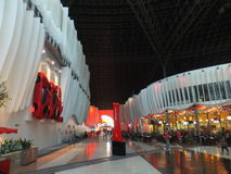 Ferrari World in Abu Dhabi, UAE Royalty Free Stock Photography