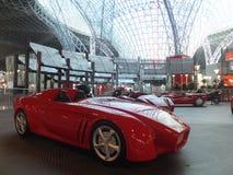 Ferrari World in Abu Dhabi, UAE Stock Photos
