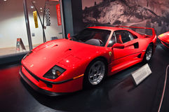 Ferrari World in Abu Dhabi UAE Stock Image