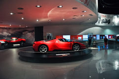 Ferrari World in Abu Dhabi UAE Royalty Free Stock Photo