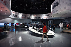 Ferrari World in Abu Dhabi UAE Royalty Free Stock Photos