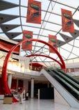 Ferrari world entrance Stock Photo
