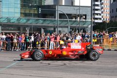 Ferrari World Finals Royalty Free Stock Photography