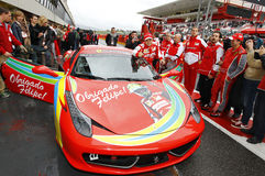 Ferrari World Finals 2013 Royalty Free Stock Image
