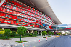 Ferrari World Park in  Abu Dhabi Royalty Free Stock Photography