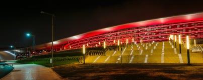 Ferrari World Park in  Abu Dhabi Stock Photography