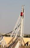 Ferrari world roller coaster Royalty Free Stock Photos